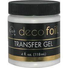 deco foil therm o web icraft deco foil transfer gel 4 oz