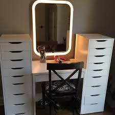 Ikea Micke Desk Makeup Storage Maxresdefault Everyday Organization