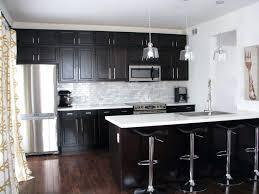 espresso and white kitchen cabinet best espresso kitchen cabinets
