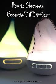 how to choose an essential oil diffuser