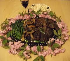 bitter herbs on seder plate bitter herbs and collard greens an american seder plate