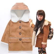 girls coat boys outwear autumn winter fleece coat age size 2 3 4 5