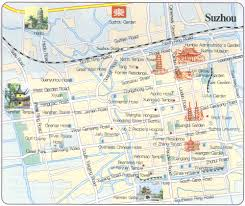 touristic map of suzhou travel maps printable hi res tourist map of suzhou china