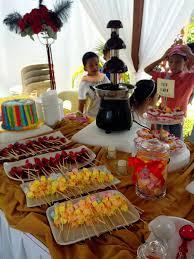 wedding cake pelangi rainbow cake for candy buffet kek pelangi candy buffet