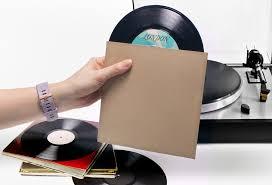 vinyl record jackets 7 in lp kraft brown prosumer s choice