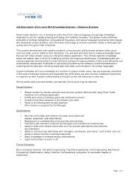 Mechanic Job Description For Resume by Chief Mechanical Engineer Sample Resume Haadyaooverbayresort Com