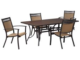 signature design by ashley carmadelia outdoor rectangular dining