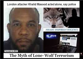 Lone Wolf Meme - lionheart westminster attacker classed as lone wolf
