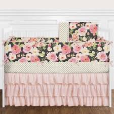 Pink And Gold Nursery Bedding Baby Bedding And Crib Bedding