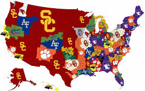 Boston College Map by Week 2 College Football Imperialism Map Cfb