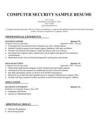 security objectives for resume criminal justice resume samples