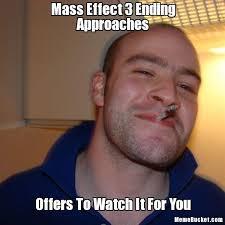 Mass Effect Meme - mass effect 3 ending approaches create your own meme