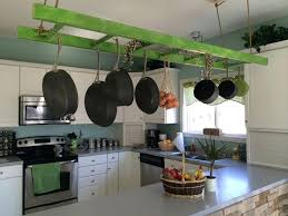kitchen pan storage ideas hanging pots and pans rack freepuss