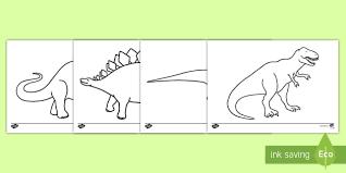 dinosaurs colouring sheets dinosaur colouring poster