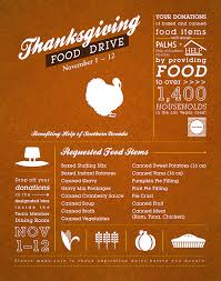 thanksgiving food drive on behance