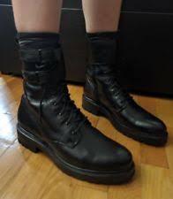 womens black combat boots size 9 frye s combat boots ebay
