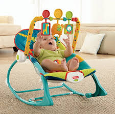 Chair For Baby To Sit Up Amazon Com Fisher Price Infant To Toddler Rocker Dark Safari