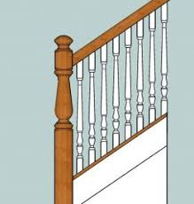 Replacing A Banister And Spindles Knee Wall Baluster Installation Doityourself Com Community Forums