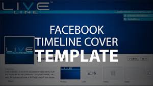 photoshop template facebook timeline cover psd file youtube