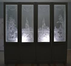 Antique Stained Glass Door by Etched Glass Doors Collection On Ebay