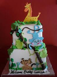 jungle theme baby shower cake baby shower cakes cakes and pastries