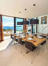Dining Room Ideas In Private House by Wooden Beach Villa View Most Beautiful Houses In The Philippines