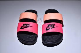 pink slides nike benassi duo ultra slide womens 819717 602 pink sandals