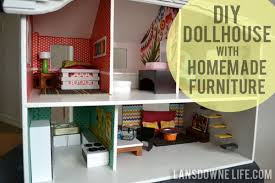 Modern Furniture Diy by Modern Diy Dollhouse With Homemade Furniture Part 1 Of 6