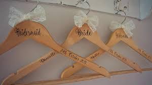 Wedding Dress Hanger Personalised Wooden Engraved Wedding Dress Hangers Personalized