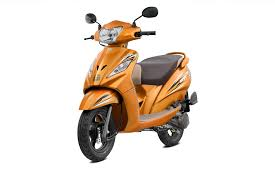 tvs wego 110 and the various colours it is available in