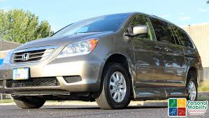 2009 honda odyssey stock wheelchair van for sale personal