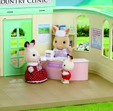 sylvanian families country doctor jac in a box