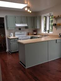 Rustoleum Paint For Kitchen Cabinets Painted Kitchen Cabinets Rustoleum Meadow Bay St Pinterest