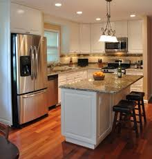 remodeled kitchens ideas miraculous kitchen remodel white cabinets tile backsplash