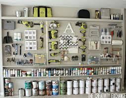 Wall Organiser Diy Garage Pegboard Storage Wall Cool Pieces The Creativity