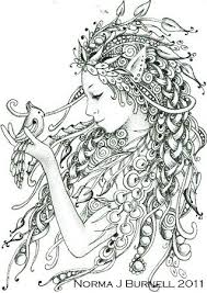 213 best coloring pages fairies by fairytangles images on