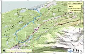 Continental Divide Map Watershed Maps Anchorage Park Foundation