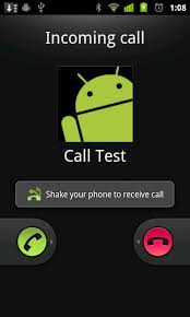 calls for android answer android calls with a shake