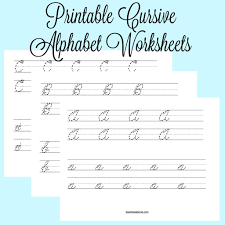 Writing The Alphabet Worksheets Alphabet Fabric Roundup Spoonflower Cursive Letters Cursive