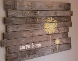 custom pallet sign painted large wooden sign custom pallet