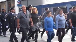 columbus day parade in nyc clip 3 metropolitan transportation