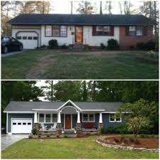 home exteriors before and after 1000 ideas about home exterior