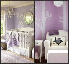 baby nursery decor sakura tree wall decal elegant purple baby