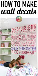 make your own decals to create a custom wall quote designer you can make your own decals to create any custom wall quote
