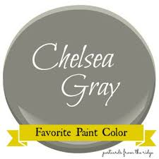 favorite paint color benjamin moore chelsea gray postcards