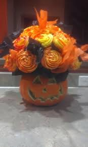 halloween cupcake bouquet cakecentral com