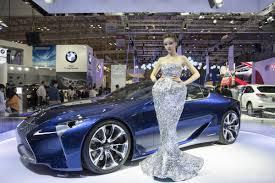 sieu xe lexus lf lc tuyệt tác coupe lexus lf lc concept tại vms 2014 youtube