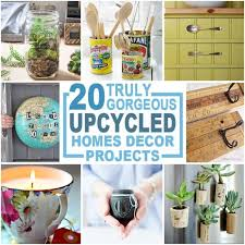 Upcycled Home Decor 20 Truly Gorgeous Upcycled Home Décor Items