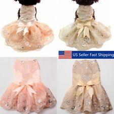 Dog Wedding Dress Dog Dress Ebay