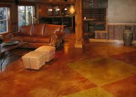 Basement Floor Stain by 28 Best Concrete Paint Diy Images On Pinterest Homes Stained
